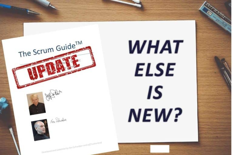Update Scrum Guide: what else is new?