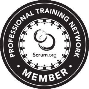 Badge of Scrum.org Professional Training Network Member