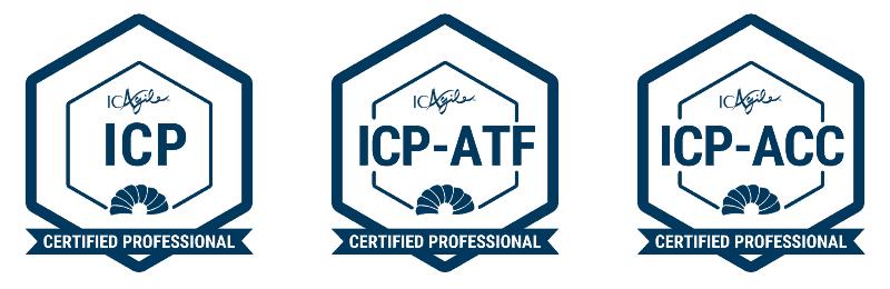Matthijs' ICAgile certifications