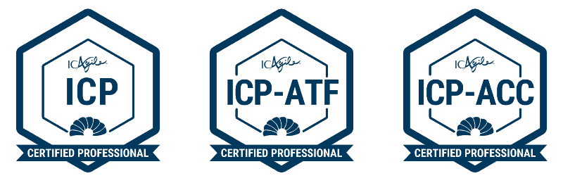 ICAgile certifications