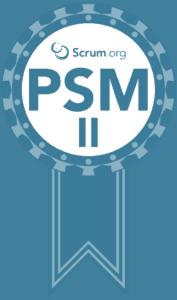 PSM II certification badge