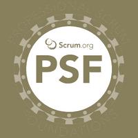 Scrum.org Professional Scrum Foundations logo (PSF)