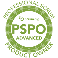 Scrum.org Professional Scrum Product Owner - Advanced logo (PSPO-A)