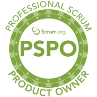 Scrum.org Professional Scrum Product Owner logo (PSPO)