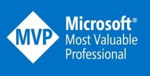 Microsoft Most Valuable Professional award badge (MVP)