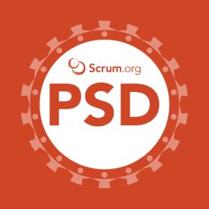 Scrum.org Professional Scrum Developer logo (PSD)
