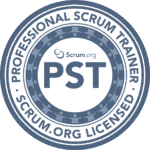 Logo Scrum.org Professional Scrum Trainer